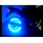 Super Bright Bleu clignotant LED Light Tire (2-Pack)