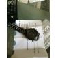 NAVIFORCE Homme Montre Bracelet Quartz Quartz Japonais LED LCD Calendrier Chronographe Etanche Double Fuseaux Horaires penggeraAcier