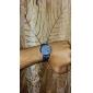 Relógio de Pulso Unissex com Caixa Redonda e Pulseira de Couro PU