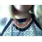 Feminino Gargantilhas Colares Vintage Acrílico Liga Moda bijuterias Jóias Para Diário