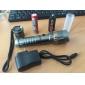 손전등 키트 LED 1000 루멘 6 모드 Cree XM-L T6 18650 조절가능한 초점 캠핑/등산/동굴탐험 / 일상용 / 일 알루미늄 합금