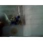 Mode d'alliage de main Numéro 8 Motif cheville (bleu, bleu foncé, noir, rose) (1 PC)