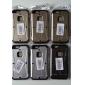 Pour Coque iPhone 6 Coques iPhone 6 Plus Avec Support Coque Coque Intégrale Coque Armure Dur Polycarbonate pouriPhone 6s Plus/6 Plus