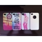 Live and Life of Sea Pattern Hard Case for iPhone 4/4S