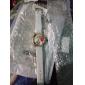Femme Montre Tendance Quartz Polyuréthane Bande Fleur Bohème Noir Blanc Bleu Rouge Orange Vert Rose Violet Bleu marine Rouge RoseRouge