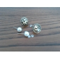 Stud Earrings Pearl Alloy Jewelry Party Daily