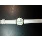 женская мода стиль Женева кожаный ремешок кварцевые аналоговые наручные часы (разных цветов)