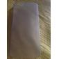 아이폰 5 / 5S에 대한 고급 울트라 얇은 반투명 백 커버 (모듬 된 색상)