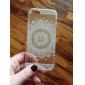 задняя сторона обложки мандала TPU мягкое покрытие кейс прозрачный / шаблон для iphone яблоко SE / 5с / 5