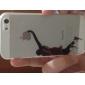 아이폰 5 / 5S에 대한 슬램 덩크 패턴 PC 하드 투명한 뒷면 커버 케이스의 농구 시리즈