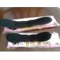 (2 Pcs) doces de algodão preto prato Tools cabelo para as mulheres