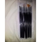 15PCS Nail Art Design Painting Drawing Pen Brush Set(White,Pink,Black 3 Color to Choose)
