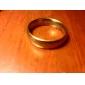 Кольца Повседневные Бижутерия Нержавеющая сталь Пара Кольца для пар Золотой