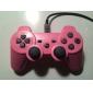 Розовый беспроводной USB контроллер для PS3