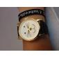 Femme Montre Tendance Bracelet de Montre Quartz montre chat Polyuréthane Bande Dessin-Animé Noir Blanc Bleu Rouge Marron Rose
