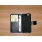 Pour Coque iPhone 6 Coques iPhone 6 Plus Portefeuille Porte Carte Avec Support Clapet Coque Coque Intégrale Coque Couleur Pleine DurCuir