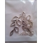Жен. Девочки´ Ожерелья с подвесками В форме листа Серебрянное покрытие Сплав Регулируется европейский Мода Серебряный Бижутерия ДляДля