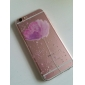 Para Capinha iPhone 6 Capinha iPhone 6 Plus Case Tampa Transparente Estampada Capa Traseira Capinha Flor Macia PUT para iPhone 6s Plus