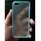 아이폰을위한 TPU 범퍼 케이스 백 프로스트 5 / 5S (모듬 색상)