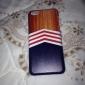 Dure de cas modèle en bois Triangle Tapis pour iPhone 5C