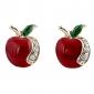Stud Earrings Fashion Luxury Rhinestone Imitation Diamond Alloy Jewelry For Party Daily Casual Sports