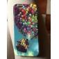 teste padrão dos balões coloridos TPU macio para iphone 6 / 6s
