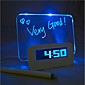 доска объявлений синий свет цифровой будильник с 4 USB порта концентратора (USB)