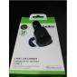 2 em 1 usb carregador de carro preto para mini-iphone 5 / 5s / 6/6 mais / iPad e outras portas USB do telemóvel 2 (20w 5v 2.1a)