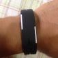 Homme Montre de Sport Montre Bracelet Numérique LED Calendrier Silikon Bande Noir Blanc Bleu Rouge Orange Marron Vert Gris Rose Violet
