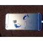 Para Capinha iPhone 6 / Capinha iPhone 6 Plus Ultra-Fina / Transparente / Estampada Capinha Capa Traseira CapinhaBrincadeira Com Logo da