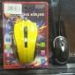 r cheval moteur de souris de jeu laser 6 boutons et une molette 3200 dpi