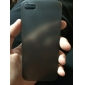Для Кейс для iPhone 5 Ультратонкий Кейс для Задняя крышка Кейс для Один цвет Мягкий PC iPhone SE/5s/5
