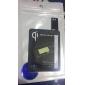 Черный Ци Стандартный беспроводной зарядки приемника Pad для Samsung Galaxy S4