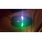 6D игровой оптическая мышь 2400dpi 7 цветов привело автоматически переложить