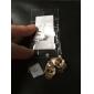 Серьги-гвоздики Сплав Имитация Алмазный В форме черепа Бижутерия Повседневные