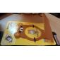 Медвежонок держатель кумулятивный заряд пластмассовый мобильный телефон (случайный цвет) х 1 шт
