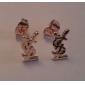 Boucles d'oreille goujon ( Alliage ) Quotidien