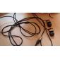 세련된 고품질 총알 형 금속 쉘 귀 헤드폰