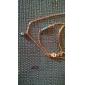 shixin® 빈티지 보석 합금 작은 펜던트 목걸이 (황금) (1 개)