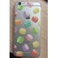 Для Кейс для iPhone 6 / Кейс для iPhone 6 Plus Ультратонкий / Прозрачный / С узором Кейс для Задняя крышка Кейс для Плитка Мягкий TPU