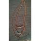 shixin® старинные камень сплав крошечный ожерелье (Золотой) (1 шт)