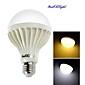 12W E26/E27 Круглые LED лампы A70 18 SMD 5630 900 lm Тёплый белый / Холодный белый Декоративная AC 220-240 V 1 шт.