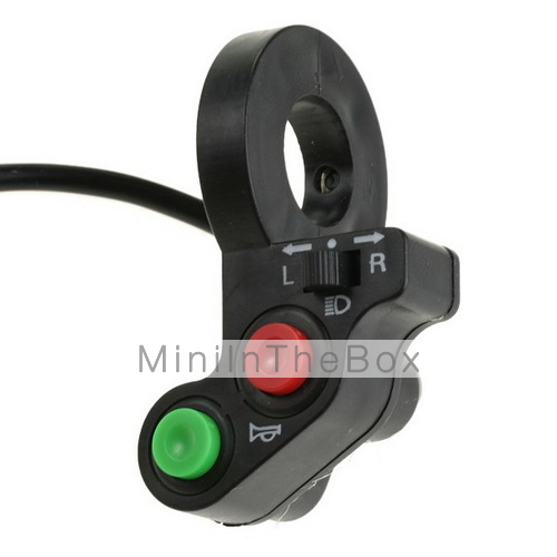 elektro fahrrad moped licht blinker hupe schalter. Black Bedroom Furniture Sets. Home Design Ideas