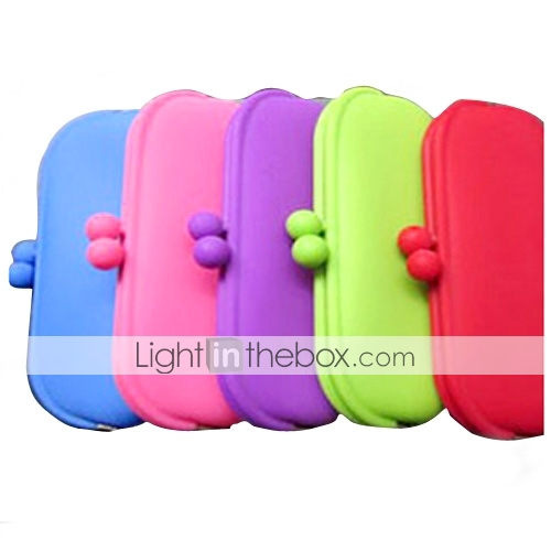 Silicone Wallet and Key Pouch (Assorted Colors)