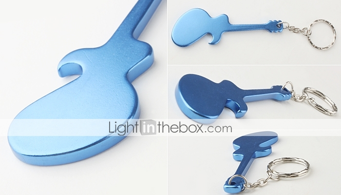 guitar shaped bottle opener keychain random color 232677 2017. Black Bedroom Furniture Sets. Home Design Ideas