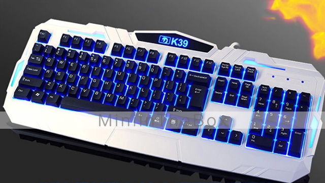 ximeng k39 m398 luminous gaming wired usb keyboard and mouse kit 800 1600 2000 dpi 1976401 2017. Black Bedroom Furniture Sets. Home Design Ideas