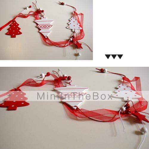Percha de navidad rbol de forma largas 1 pc materiels mdf - Decoraciones del arbol de navidad ...