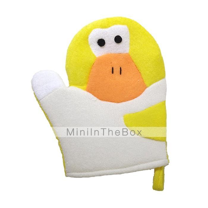 mikimini guanti da bagno animali (anatra giallo) del ...
