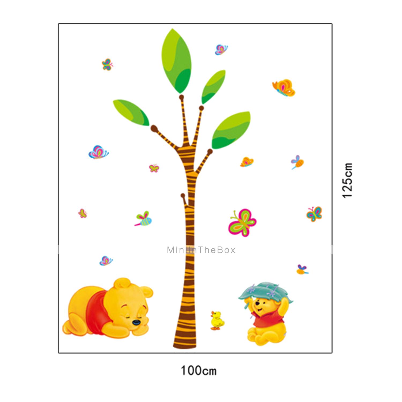 Adesivi da parete - di Plastica - Verde/Giallo - Cartoni animati del 3045717 ...