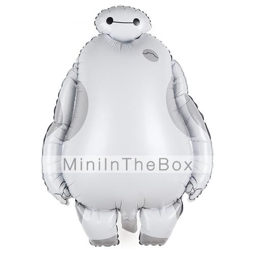 Pellicola di alluminio baymax palloncino bianco cartone